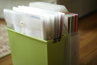 Scraps & 12x12 cardstock