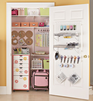 Scrapbook Supplies Storage Closet (SBEtc.)