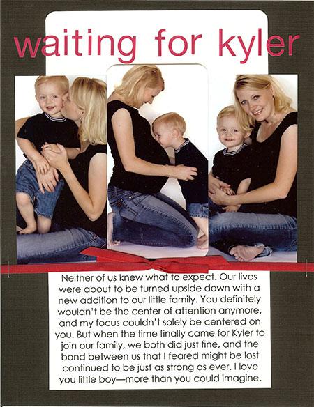 Waiting for kyler