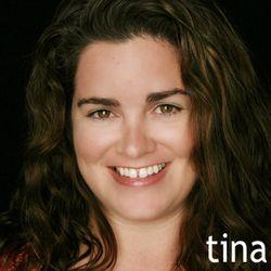 Tina blog posting photo with name color