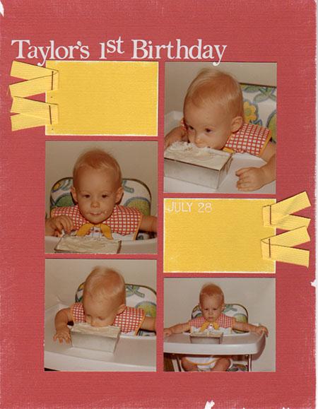 Taylors 1st