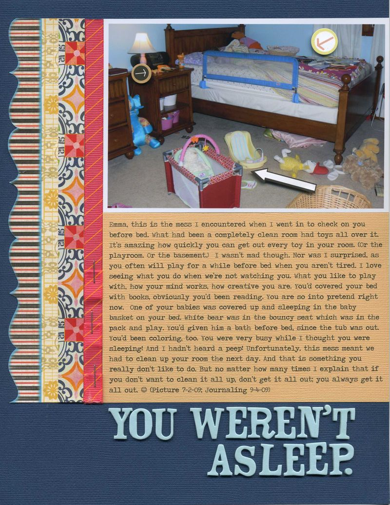 You weren't asleep erin sweeney write click scrapbook