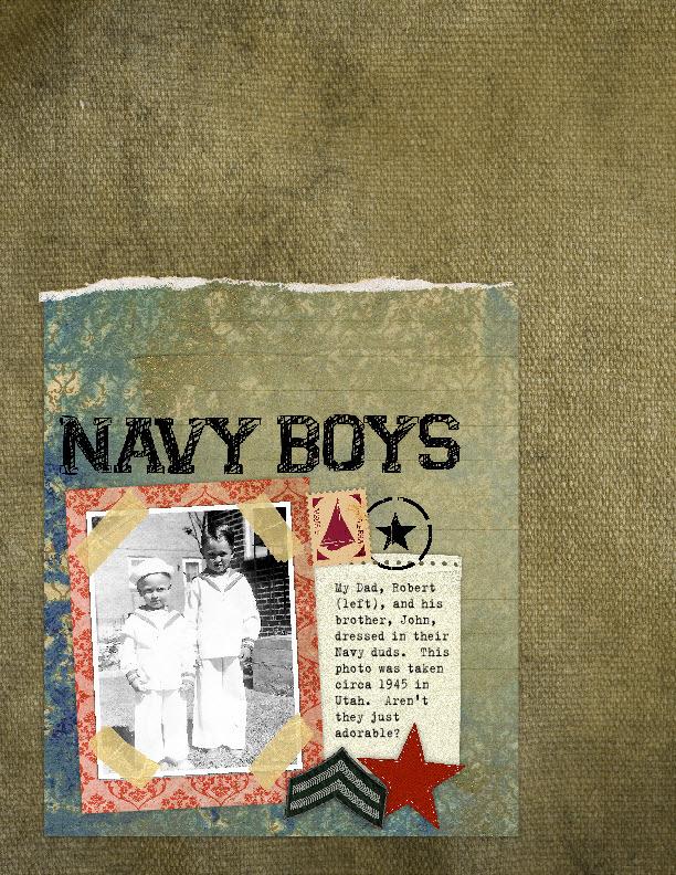 Navy boys