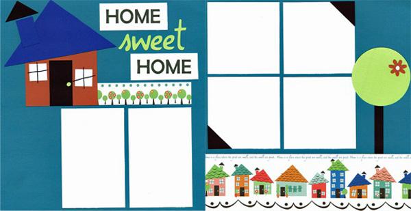 Home Sweet Home copy write click scrapbook