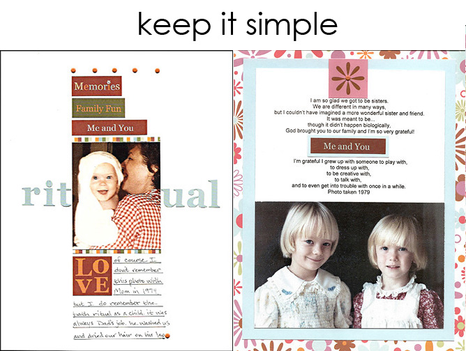 Tip 2_keep it simple