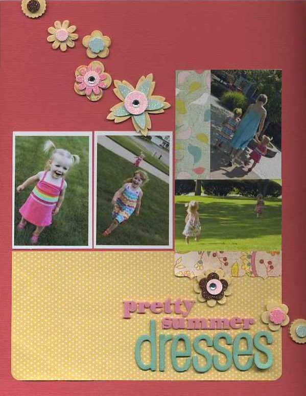 Pretty summer dresses erin sweeney write click scrapbook