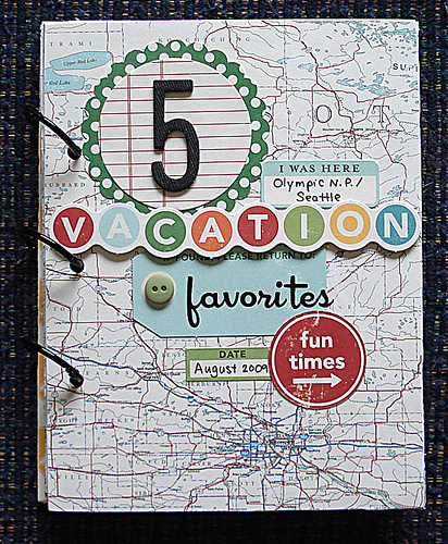 9 5 Vacation Favorites Album-Jennifer Larson