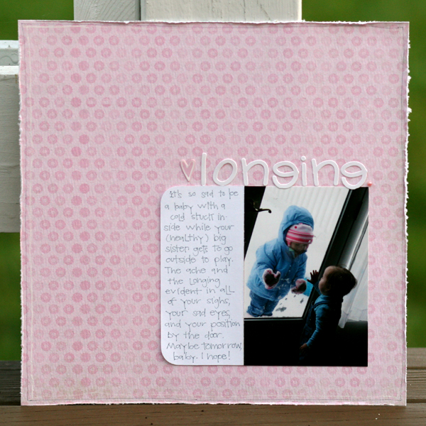 Longing write click scrapbook
