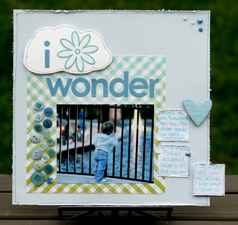 I wonder write click scrapbook