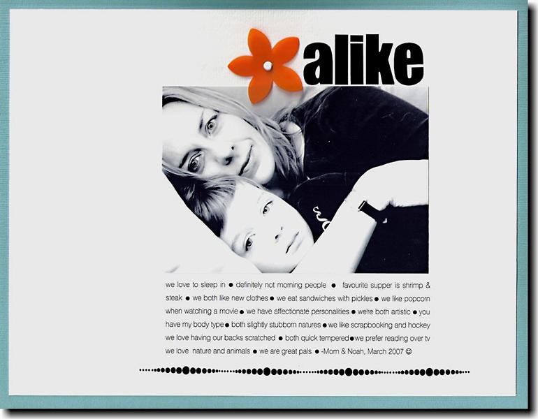 Alike web