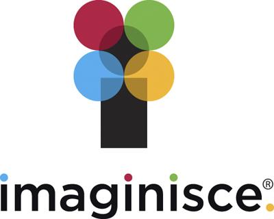 Imaginisce Logo stacked black