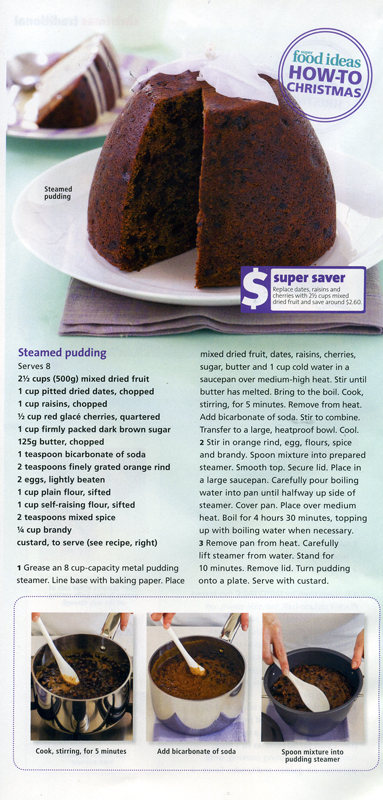 Christmas Pudding - Steamed