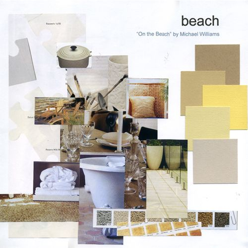 Beach - Colour Board