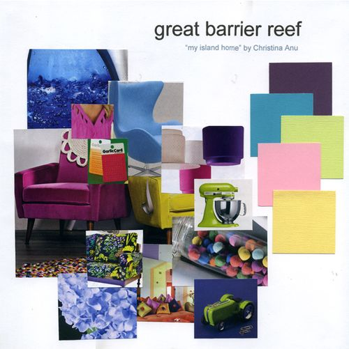 Great Barrier Reef - Colour Board