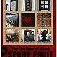 For the Love of Black Spray Paint | Cheryl Overton