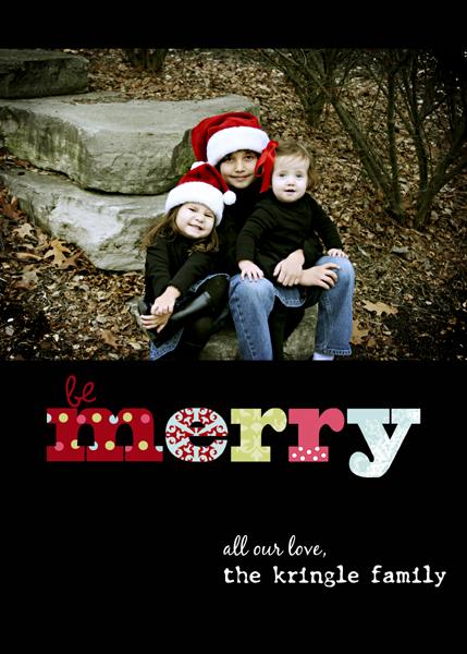 5 x7 be merry