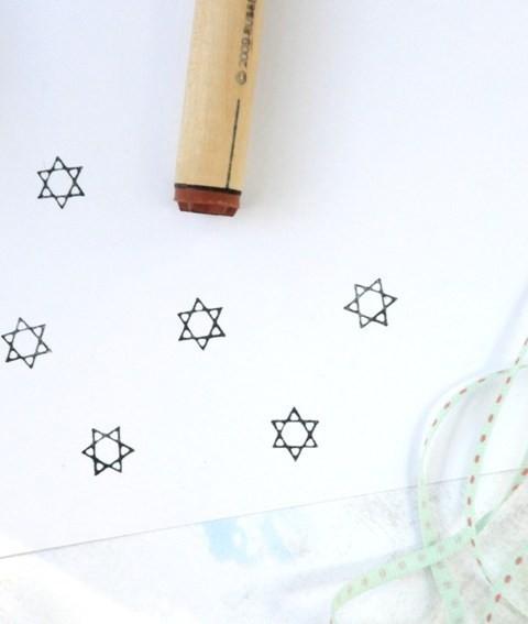 Starofdavid stamp