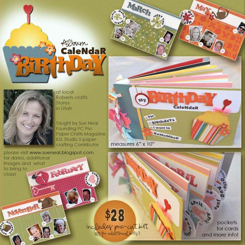 Birthday Calendar DIgi Ad