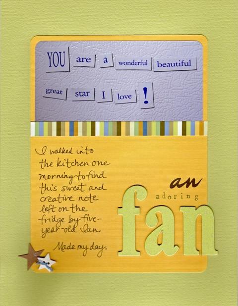 An Adoring Fan
