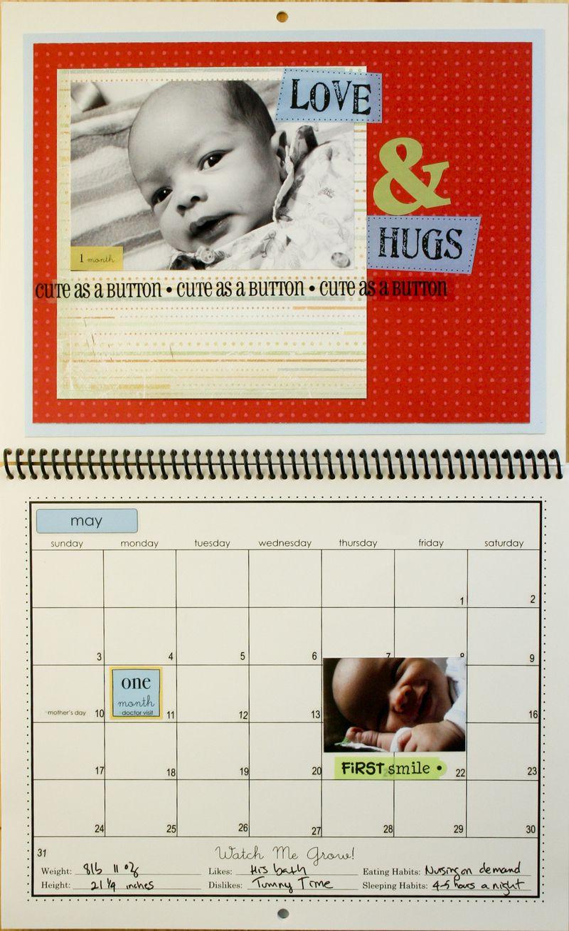 Francine Clouden_Calendar page 2