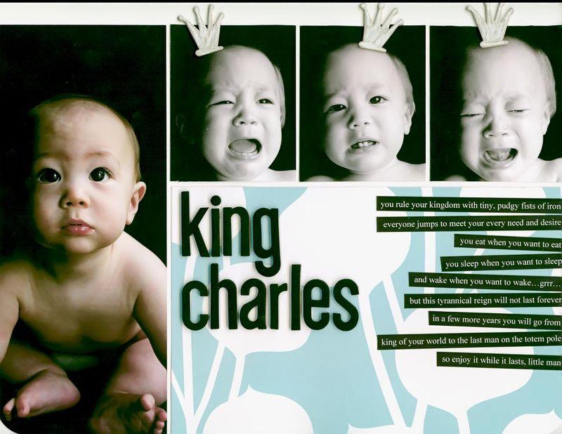 King charles