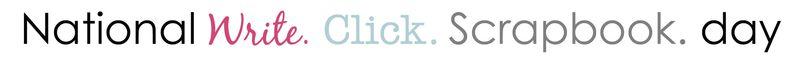 National write click scrapbook day write