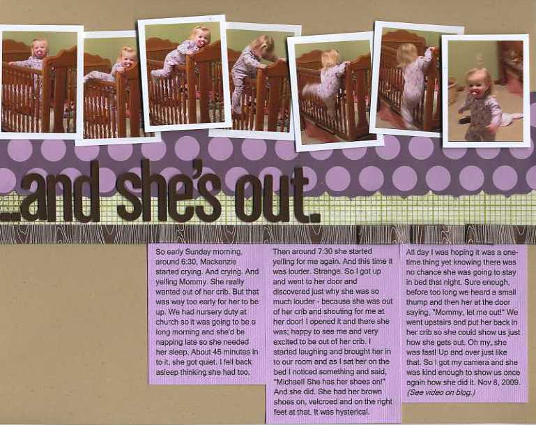 Erin sweeney ...and she's out write click scrapbook.and she's out-1