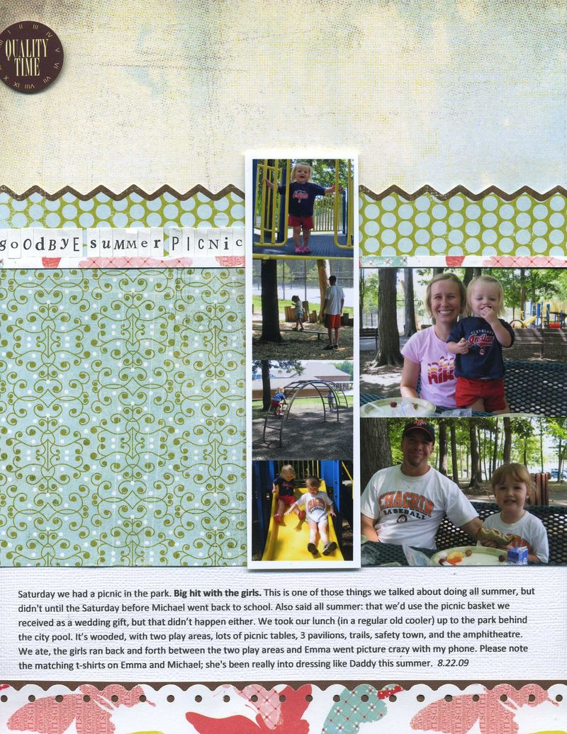 Goodbye summer picnic