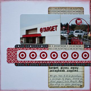 Target by sherrystamps