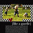 Like a Gazelle | Marie Taylor