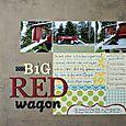 Big Red Wagon | Melissa Kaiserman