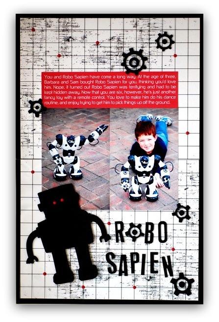 Robo Sapien - Vivian Masket