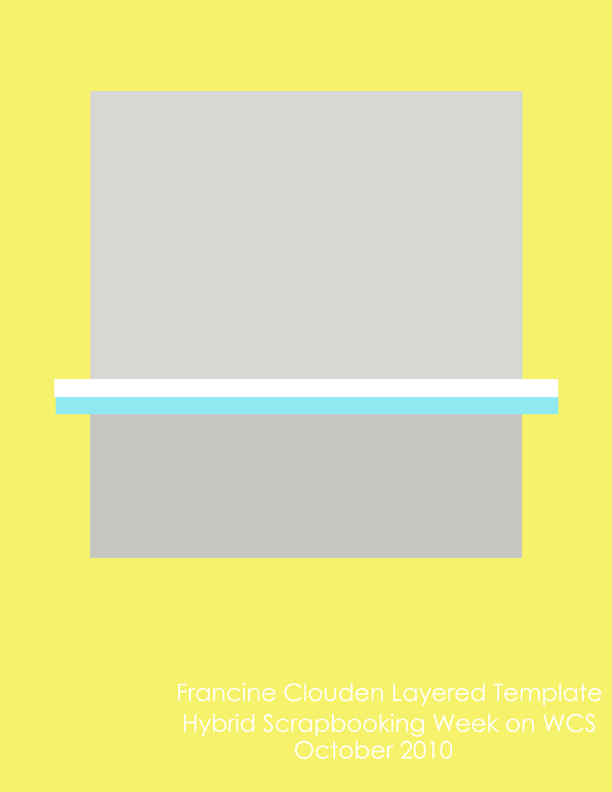 Francine Clouden Freebie Template