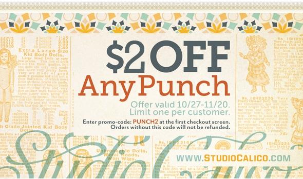 Studio calico punch write click scrapbook