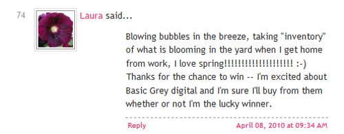 Lucky comment 04.06.10