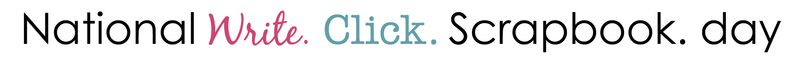 National write click scrapbook day