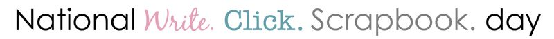 National write click scrapbook day click
