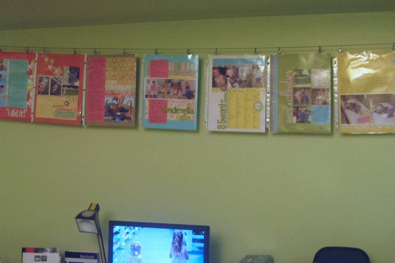 Hanging layouts