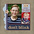 Don't Blink | Aly Dosdall