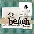 Beach Treasure Hunter | Ann Costen