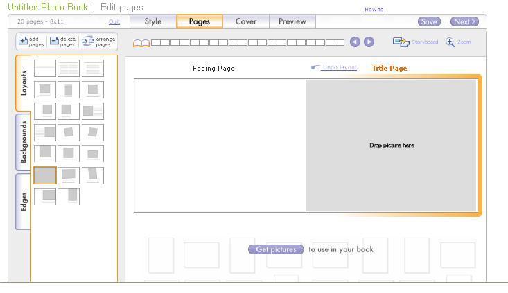 Shutterfly 2 write click scrapbook