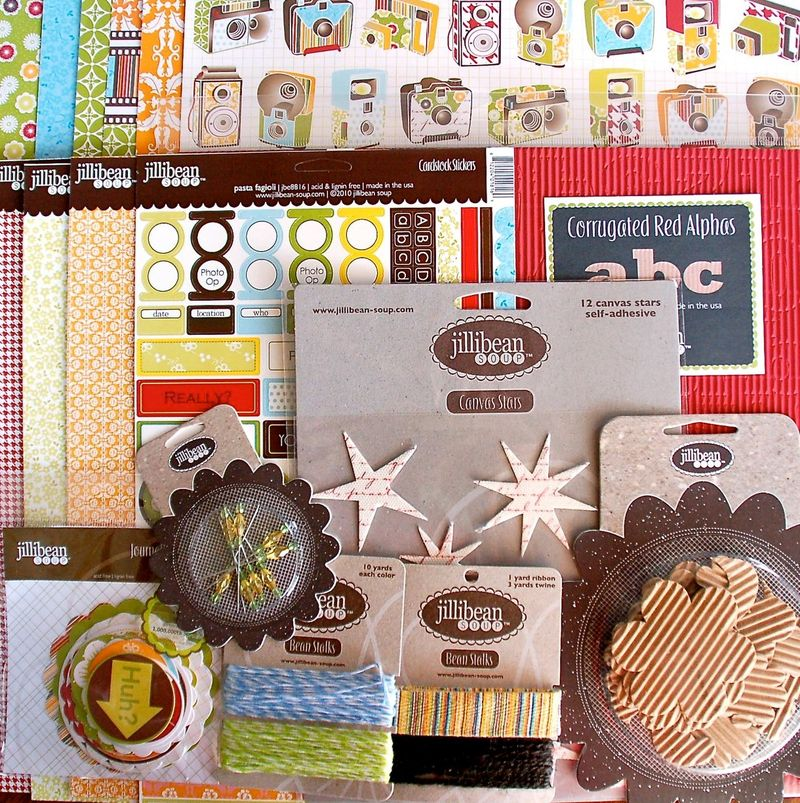Jillibean giveaway write click scrapbook