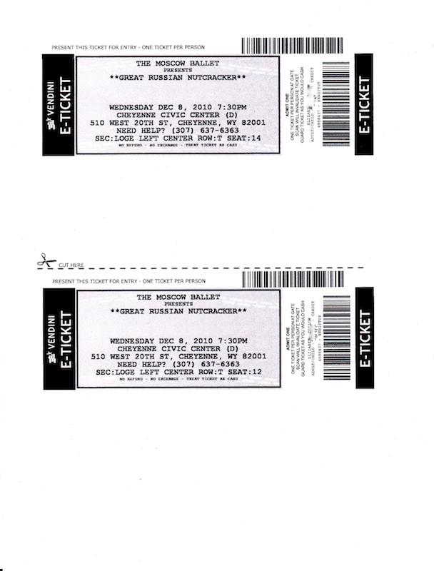 Tickets (4)