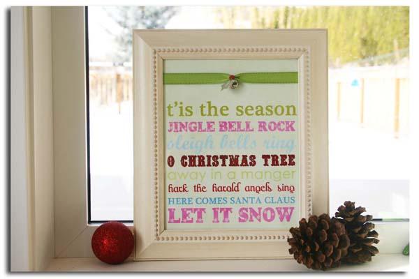 December Cheryl Overton carols