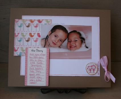 Grandmas pink tub