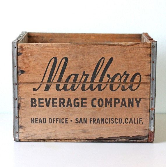 Marlboro crate