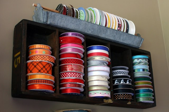 Crate in use