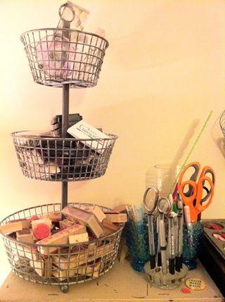 Wire basket steph