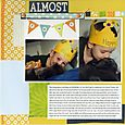 Almost Four | Amy Sorensen