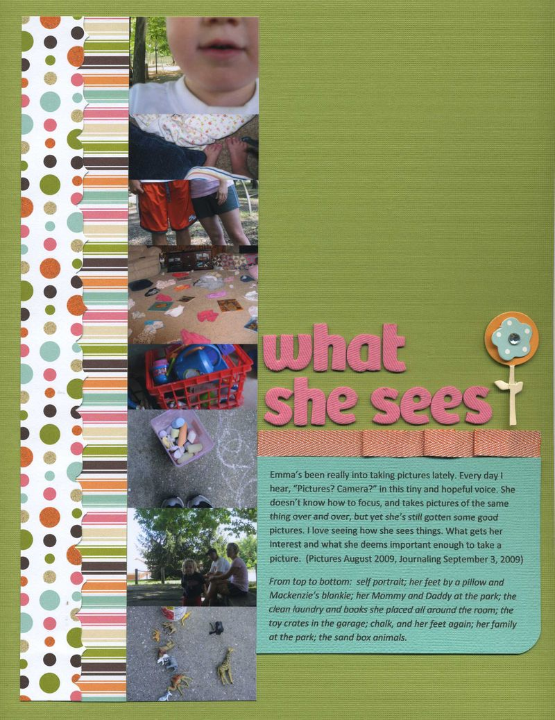 What she sees erin sweeney write click scrapbook